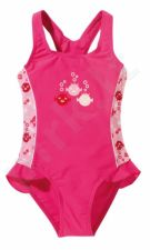 Maud. kostiumėlis merg. UV SEALIFE 6881 4 116 pink