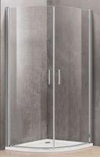 Dušo kabina P2222 100x100 skaidri be pado (tik stiklai)