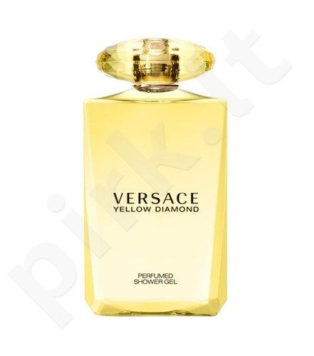 Versace Yellow Diamond, dušo želė moterims, 200ml