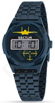Laikrodis SECTOR   Street Digital 1980 Blue Dial Brac