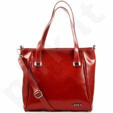 DAN-A T306 rankinė moterims odinė raudona