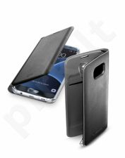 Samsung Galaxy S7 EDGE dėklas Flip Book Cellular juodas