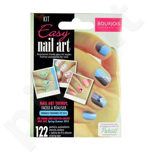 BOURJOIS Paris Easy Nail Art Kit, Nagų dailės rinkinys, kosmetika moterims, 1vnt