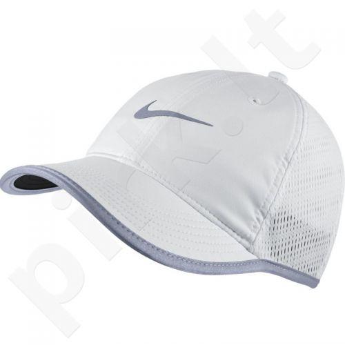 Kepurė  su snapeliu Nike Run Knit Mesh Cap W 810138-100
