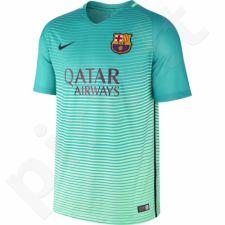Marškinėliai futbolui Nike Dry FC Barcelona Stadium Jersey M 776854-390