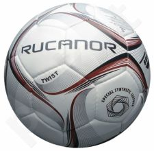 Futbolo kamuolys TWIST 01 5d. white/red/silver