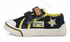 D.D. step juodi batai 20-25 d. csb-069a
