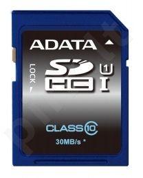 Atminties kortelė Adata SDHC UHS1 16GB, 30MBs