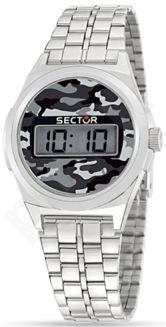Laikrodis SECTOR   Street Digital 1980 Silver Dial Brac