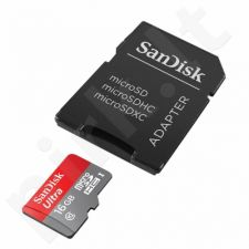 SanDisk ULTRA ANDROID Micro SDHC Card 16GB 80MB/s Class UHS-I + adapter