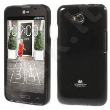 LG L90 dėklas JELLY Mercury juodas