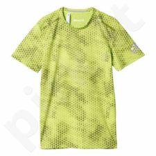 Marškinėliai treniruotėms Adidas Climachill Tee Graphic M AI8317