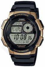 Laikrodis CASIO WORLD TIME  AE-1000W-1A3