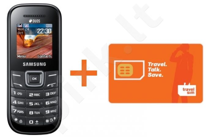 Samsung e1202 DualSIM + TravelSIM