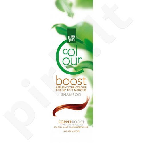 Colour boost  dažantis šampūnas Copper