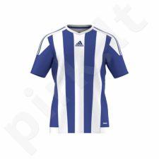 Marškinėliai futbolui Adidas STRIPED 15 JSY Junior S16138