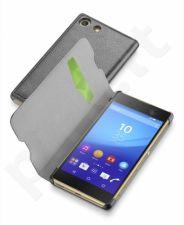 Sony Xperia M5 atverčiamas dėklas Essen Cellular juodas