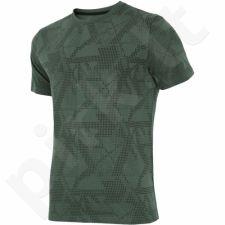 Marškinėliai 4f M H4L17-TSM011 žalio atspalvio