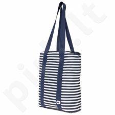 Krepšys 4F W H4L18-TPL001A tamsiai mėlyna-biała