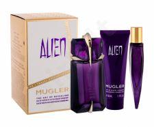 Thierry Mugler Alien, rinkinys kvapusis vanduo moterims, (EDP 60 ml + EDP 10 ml + dušo pienelis 50 ml)