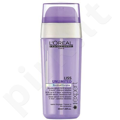 L´Oreal Paris Expert Liss Unlimited Double serumas, kosmetika moterims, 30ml