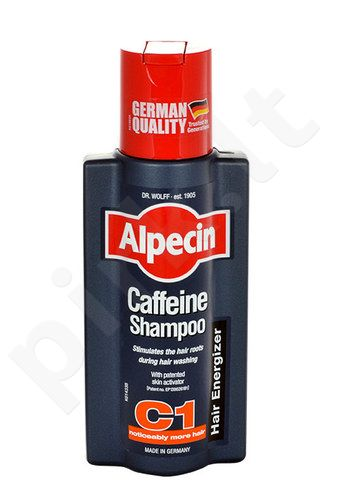 Alpecin Caffeine šampūnas Hair Energizer, kosmetika moterims, 250ml