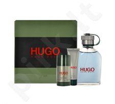 Hugo Boss Hugo rinkinys vyrams, (EDT 125ml + 50ml dušo želė + 75ml pieštukinis dezodorantas)