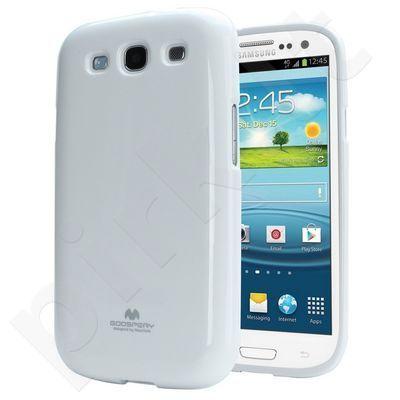 Samsung Galaxy Core dėklas JELLY Mercury baltas