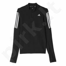 Bliuzonas bėgimui  Adidas Response 1/2 Zip Long Sleeve Tee W AX6592
