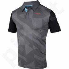 Marškinėliai tenisui Head Vision Camden Polo Shirt M 811256-BK