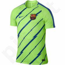 Marškinėliai futbolui Nike Dry FC Barcelona Top Junior 832242-369