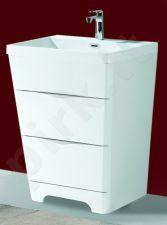 Vonios kambario spintelė su praustuvu P6502H