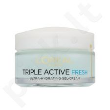 L´Oreal Paris Triple Active Fresh Hydrating gelisinis kremas, kosmetika moterims, 50ml