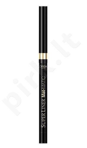 L´Oreal Paris Super akių kontūrų priemonė, atsparus vandeniui, kosmetika moterims, 5g, (Ultra Balck)