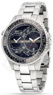 Laikrodis SECTOR   235    Dual Time Gray Dial/apyrankė