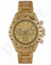 Laikrodis TOY   FLUO PEARLY chronografas METAL GOLD