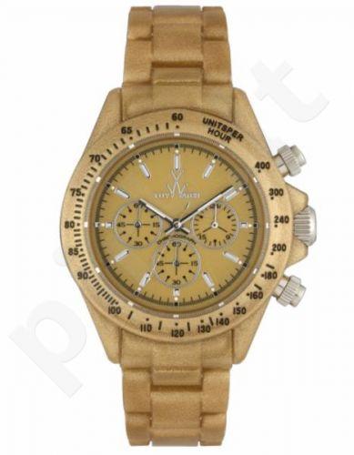 Laikrodis TOY   FLUO PEARLY chronografas METAL GOLD
