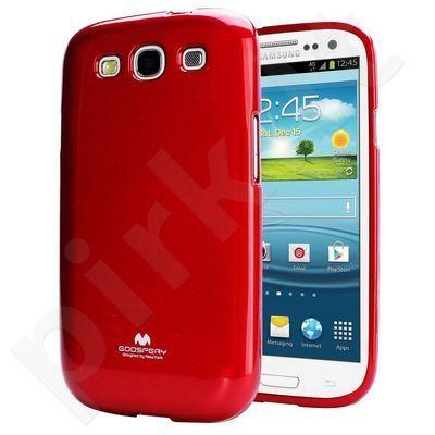 Samsung Galaxy Core dėklas JELLY Mercury raudonas