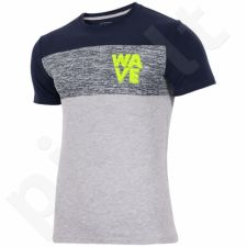 Marškinėliai 4f M H4L17-TSM012 pilkas