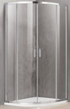 Dušo kabina A2142 100x100 skaidri be pado (tik stiklai)
