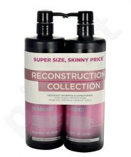 Tigi Catwalk heads hot Reconstructive šampūnas rinkinys moterims, (750ml Catwalk heads hot Reconstructive šampūnas + 750ml Catwalk heads hot Reconstructive kondicionierius)