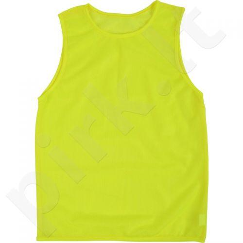 Skiriamieji marškinėliai COLO Goal geltonas