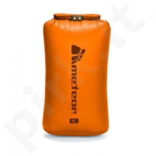 Neperšlampantis krepšys Meteor Dry Bag  6l oranžinis 76116