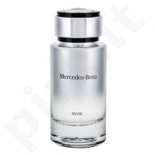Mercedes-Benz Mercedes-Benz Silver, tualetinis vanduo vyrams, 120ml