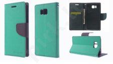 Samsung Galaxy Alpha dėklas FANCY Mercury mėtinis/mėlynas