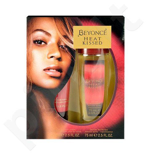 Beyonce Heat Kissed rinkinys moterims, (dezodorantas 75ml + 75ml kūno losjonas) [pažeista pakuotė]