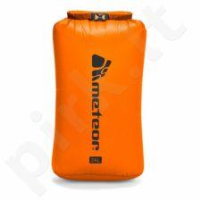 Neperšlampantis krepšys Meteor Dry Bag 24l oranžinis 76119