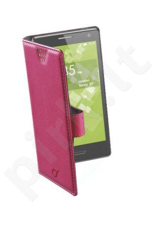 Universalus atverčiamas dėklas XXL up to 4.8 Cellular Pink