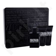 Zadig & Voltaire This is Him! rinkinys vyrams, (EDT 50 ml + dušo želė 2x 50 ml)