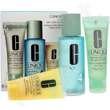 Clinique (50ml Liquid Facial Soap + 100ml Clarifying Lotion 4 + 30ml DDMgel) 3step Skin Care System4, 50ml, kosmetika moterims